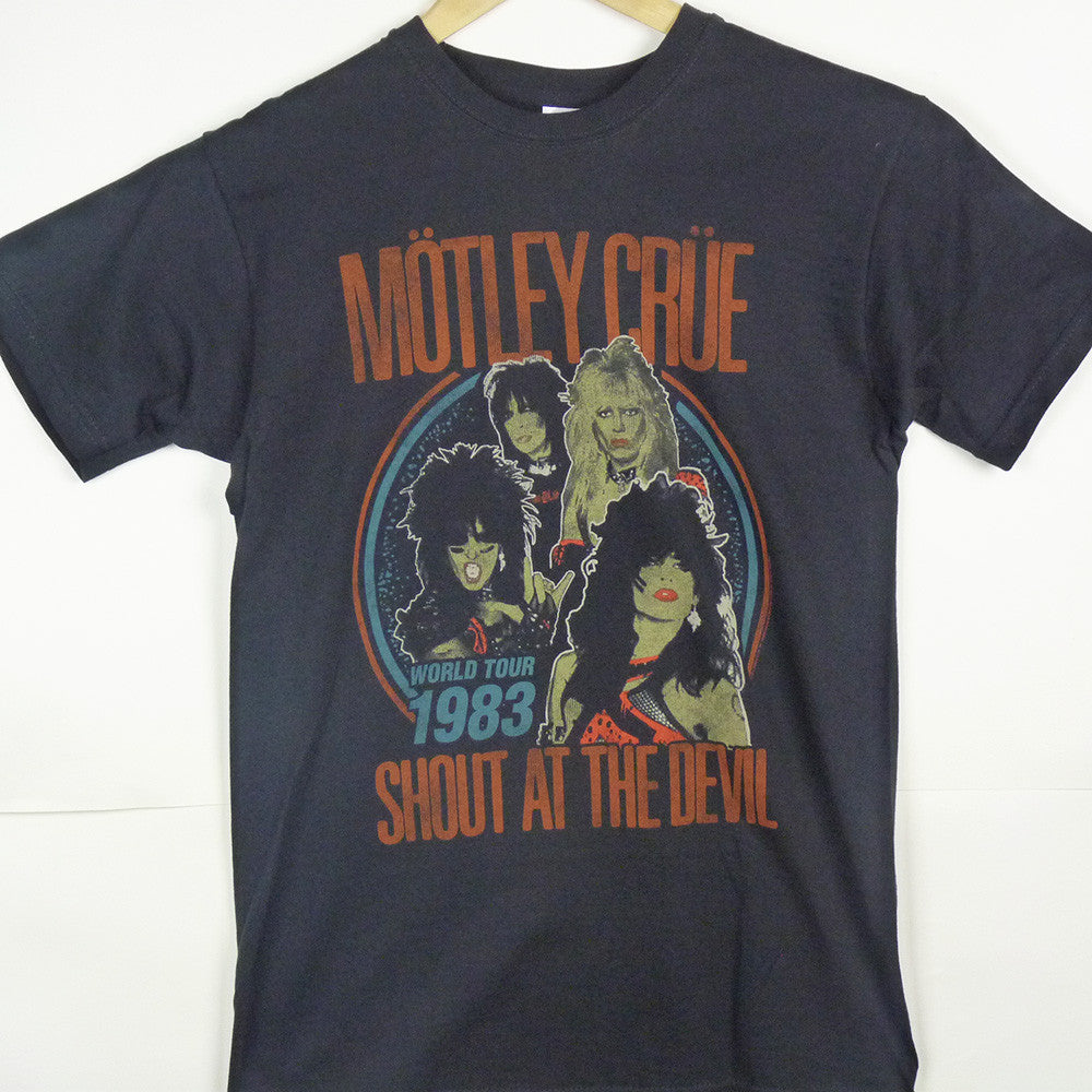 Motley Crue T-Shirt - World Tour - BBT Clothing - 4