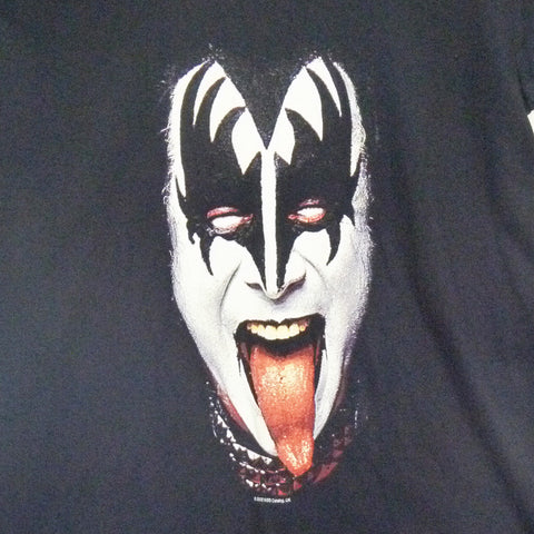 Kiss T-Shirt - Gene Face