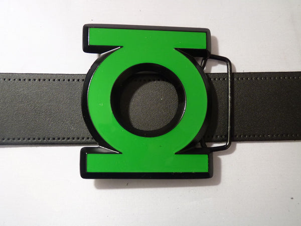 Green Lantern Belt Buckle - Logo - BBT Clothing - 3