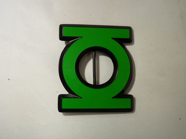 Green Lantern Belt Buckle - Logo - BBT Clothing - 2