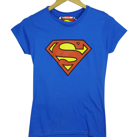 Supergirl T-Shirt - Ladies Logo