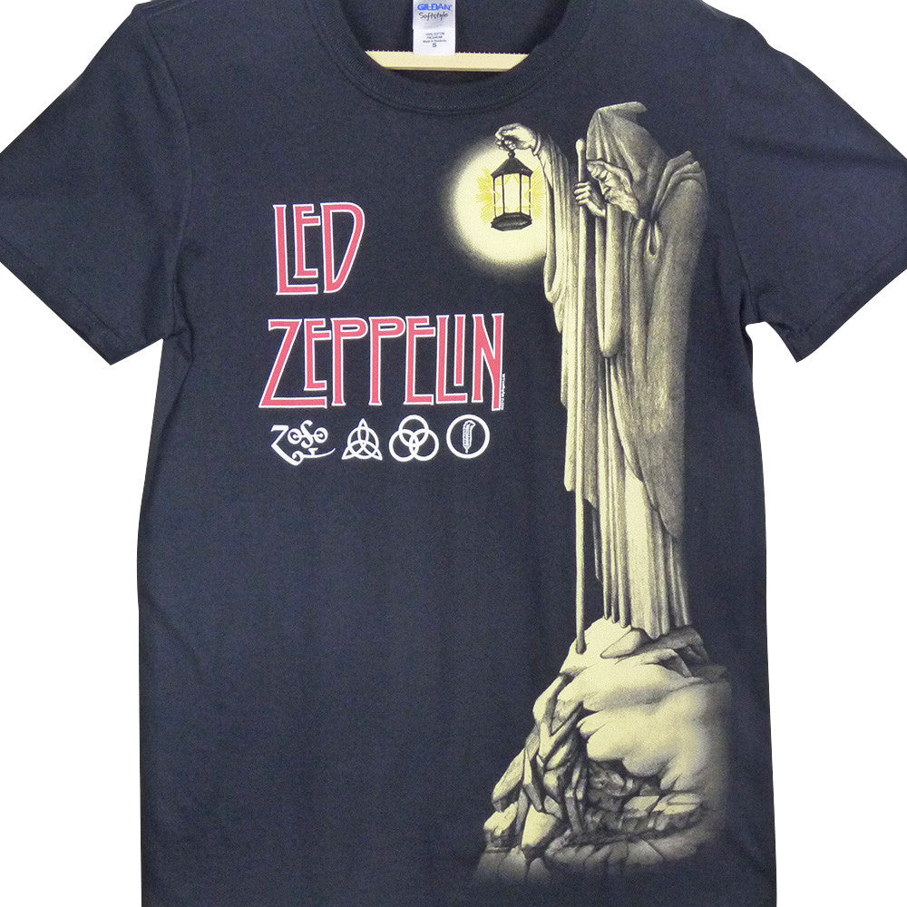 Led Zeppelin T-Shirt - Hermit - BBT Clothing - 1