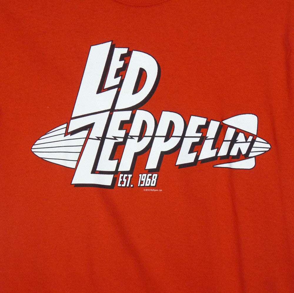 Led Zeppelin T-Shirt - Est 1968 - BBT Clothing - 2