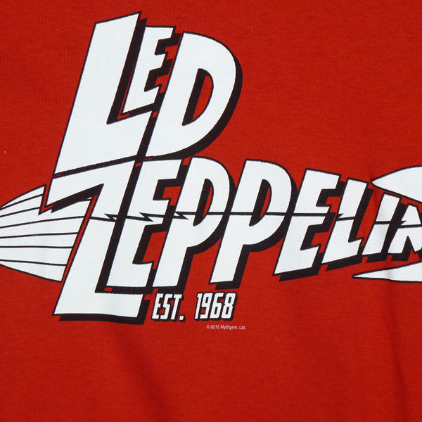 Led Zeppelin T-Shirt - Est 1968 - BBT Clothing - 3