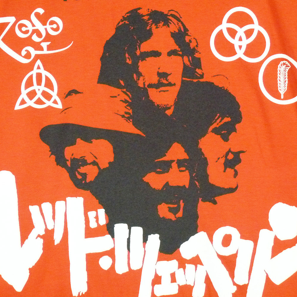 Led Zeppelin T-Shirt - Japanese promo poster - BBT Clothing - 3