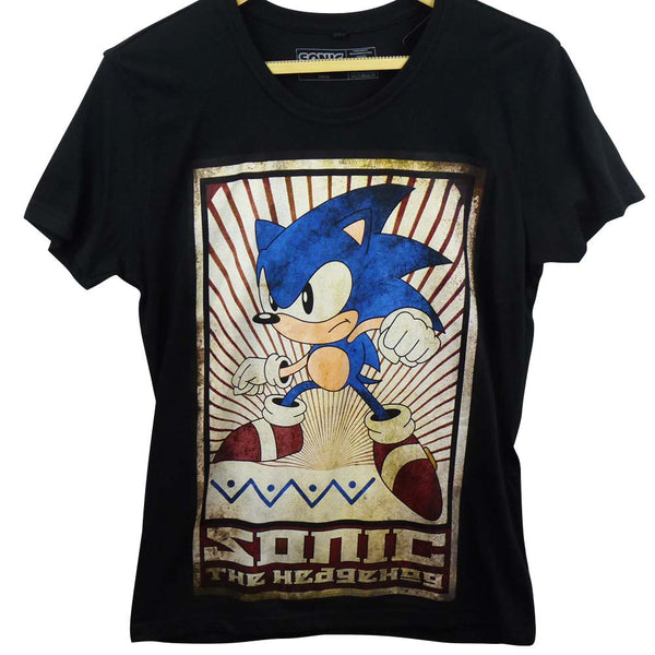 Sonic The Hedgehog T-Shirt - Vintage Design - BBT Clothing - 1