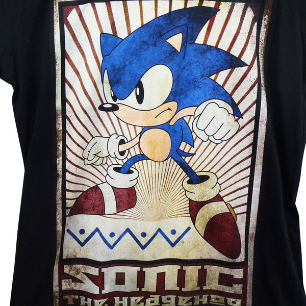 Sonic The Hedgehog T-Shirt - Vintage Design - BBT Clothing - 2