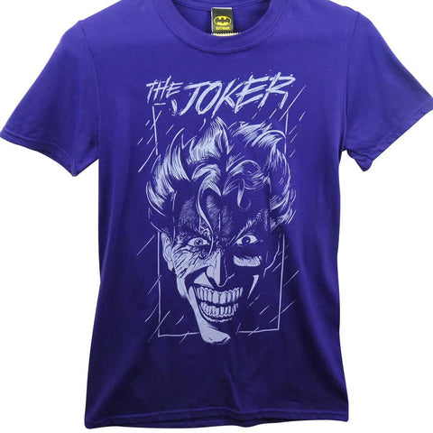 The Joker T-Shirt - Comic Head
