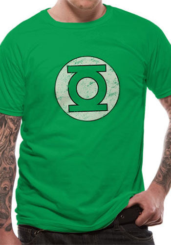 Green Lantern - Distressed logo T-Shirt - BBT Clothing - 4