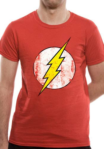 The Flash T-Shirt - Distressed Logo - BBT Clothing - 4