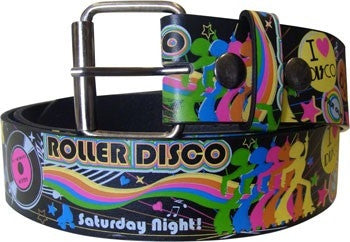 Roller Disco Design Printed Belt - BBT Clothing