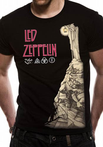 Led Zeppelin T-Shirt - Hermit - BBT Clothing - 4