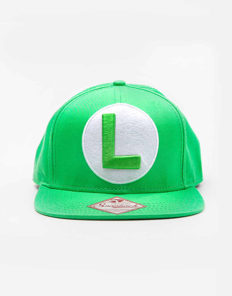 Nintendo Hat - Luigi L - BBT Clothing