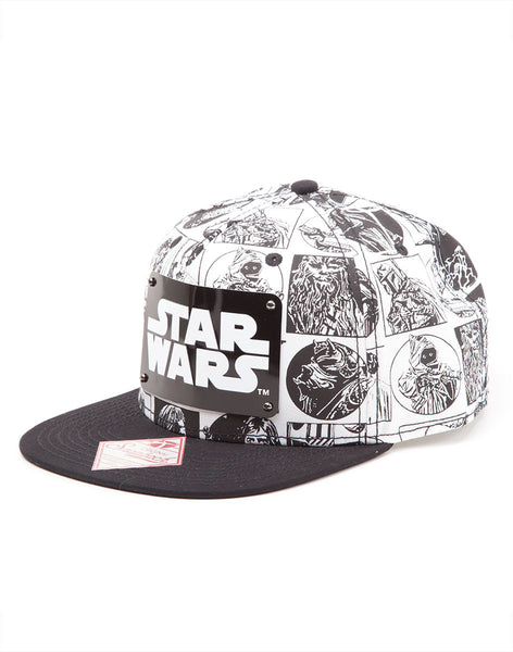Star Wars Hat - Comic - BBT Clothing - 2