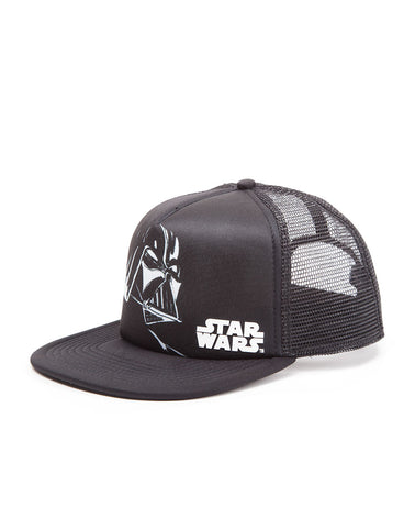 Star Wars Hat - Darth Vader with Logo Trucker