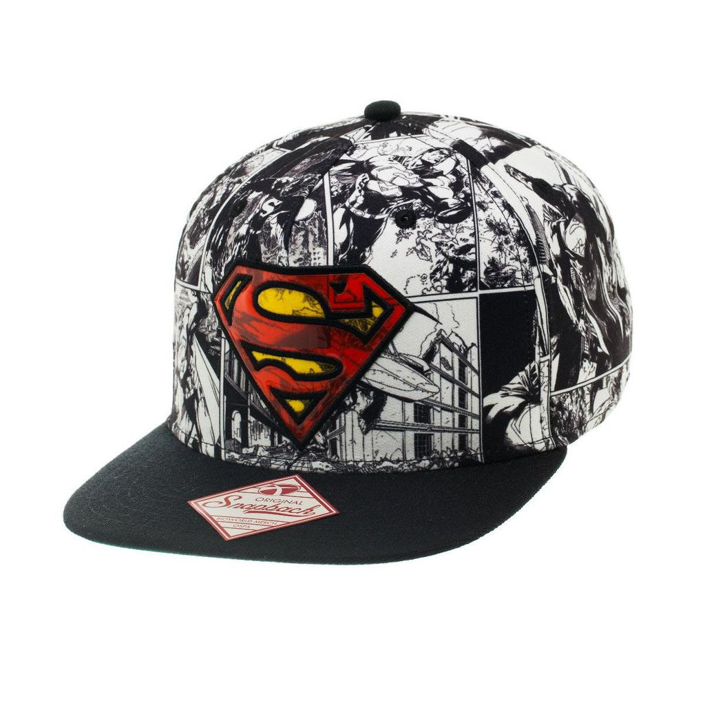 Superman Hat - Comic - BBT Clothing