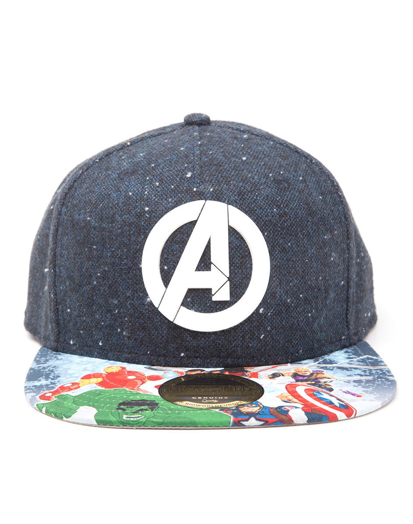 Avengers Hat - Logo printed Bill - BBT Clothing