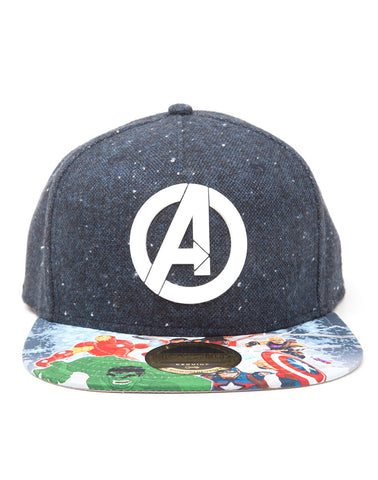 Avengers Hat - Logo printed Bill