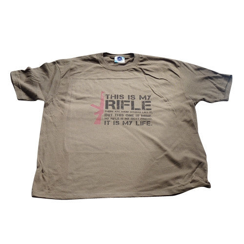 This is My Rifle Quote T-Shirt - BBT Clothing - 1