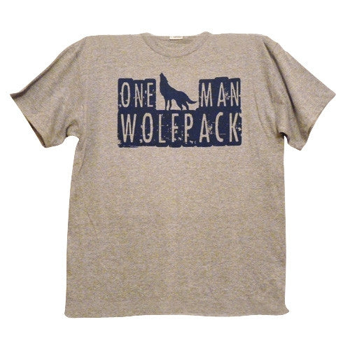 One Man Wolfpack T-Shirt - BBT Clothing - 1