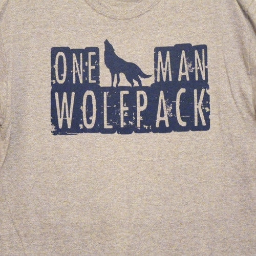 One Man Wolfpack T-Shirt - BBT Clothing - 2