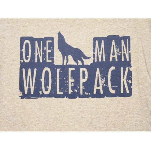 One Man Wolfpack T-Shirt - BBT Clothing - 3