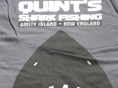 Quints Shark Fishing T-Shirt - Grey - BBT Clothing - 3