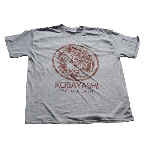 Kobayashi Porcelain T-Shirt - Grey - BBT Clothing - 1