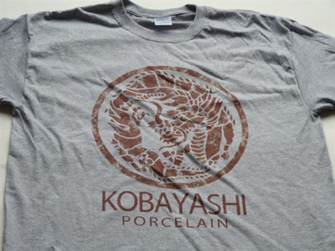 Kobayashi Porcelain T-Shirt - Grey