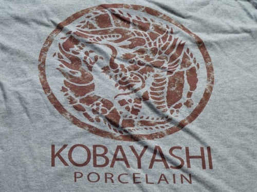 Kobayashi Porcelain T-Shirt - Grey - BBT Clothing - 3