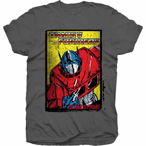 Transformers T-Shirt - Optimus Comic - BBT Clothing