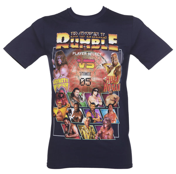 WWE T-Shirt - Royal Rumble Line Up - BBT Clothing