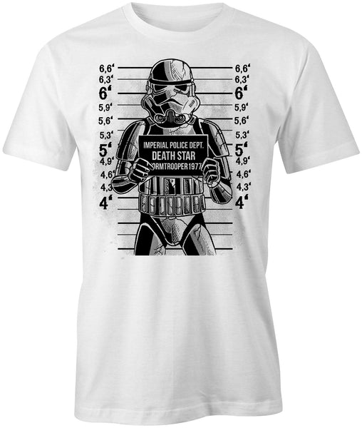 Trooper Mug Shot T-Shirt - BBT Clothing - 1