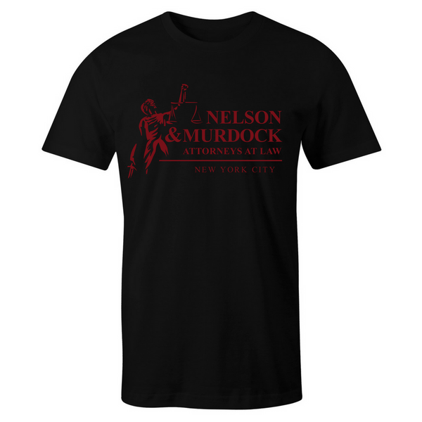 Nelson & Murdock T-Shirt - BBT Clothing - 4