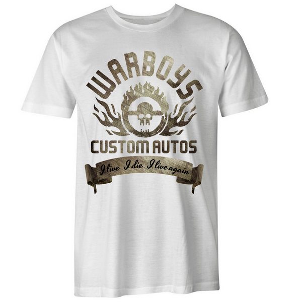 Warboys Custom Autos T-Shirt - BBT Clothing - 3