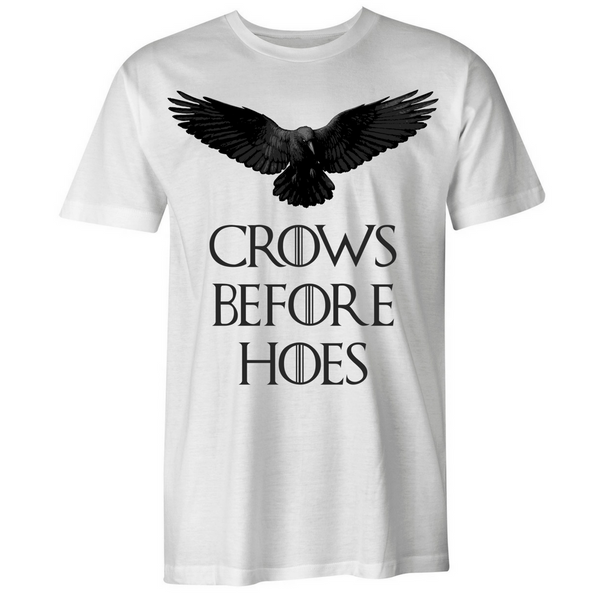 Crows Before Hoes T-Shirt - BBT Clothing - 4