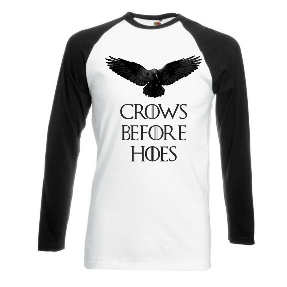 Crows Before Hoes T-Shirt - BBT Clothing - 2