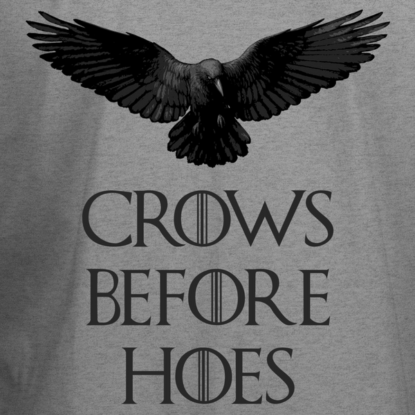 Crows Before Hoes T-Shirt - BBT Clothing - 5