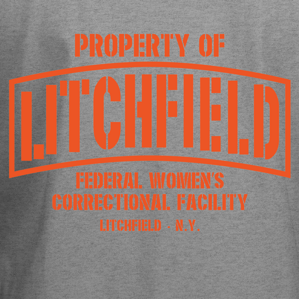 Property of Litchfield Correctional Facility T-Shirt - BBT Clothing - 2