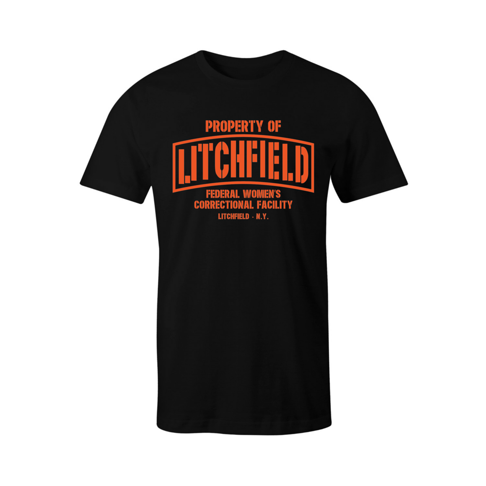 Property of Litchfield Correctional Facility T-Shirt - BBT Clothing - 4