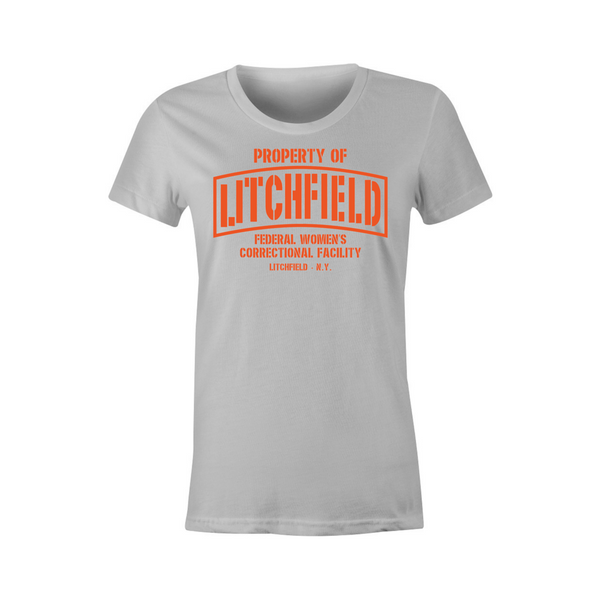Property of Litchfield Correctional Facility T-Shirt - BBT Clothing - 3
