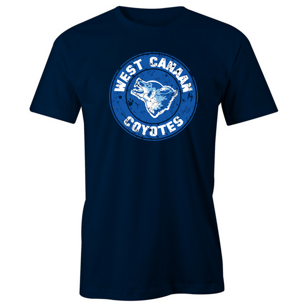 West Canaan Coyotes T-Shirt - BBT Clothing - 5
