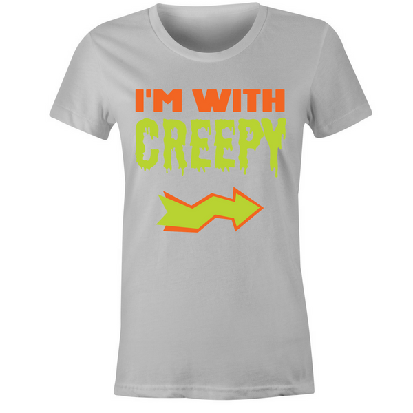 I'm With Creepy T-Shirt - BBT Clothing - 2