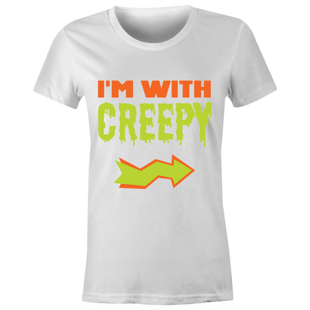 I'm With Creepy T-Shirt - BBT Clothing - 3
