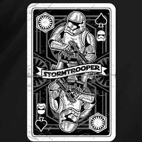 Trooper Playing Card T-Shirt