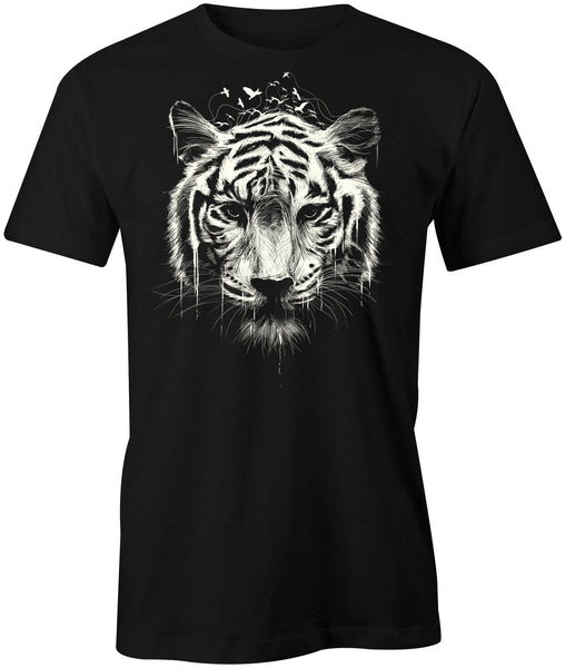 White Tiger T-Shirt - BBT Clothing - 1