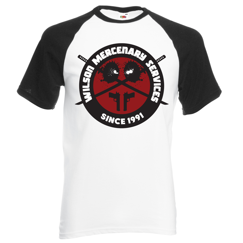 Wilson Mercenary Services T-Shirt - BBT Clothing