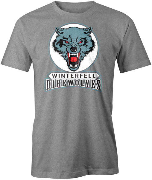 Winterfell Direwolves T-Shirt - BBT Clothing - 1