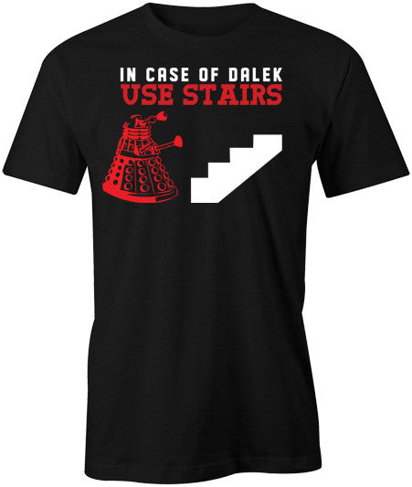 In case of Dalek T-Shirt - BBT Clothing - 1