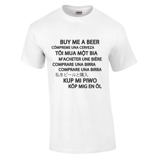 Buy Me A Beer T-Shirt - BBT Clothing